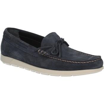 Cipők Férfi Mokkaszínek Maritan G 460363 Kék