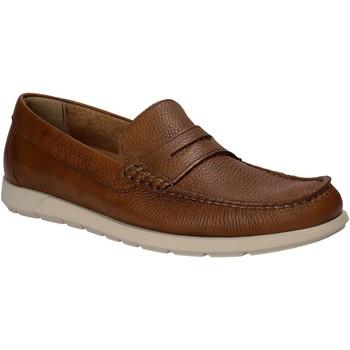 Cipők Férfi Mokkaszínek Maritan G 460364 Barna