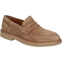 Cipők Férfi Mokkaszínek Maritan G 160772 Barna