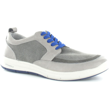 Cipők Férfi Rövid szárú edzőcipők Stonefly 108682 Szürke