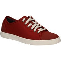Cipők Férfi Rövid szárú edzőcipők Clarks 124230 Piros
