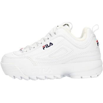 Cipők Gyerek Rövid szárú edzőcipők Fila FW02945SN White
