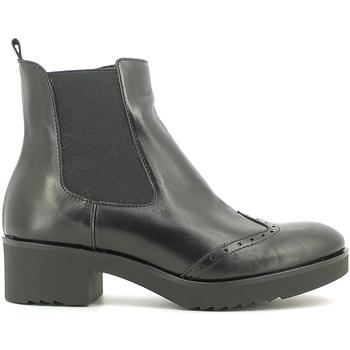 Cipők Női Bokacsizmák Susimoda 856884 Fekete