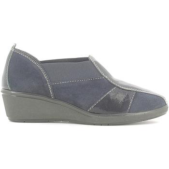 Cipők Női Mokkaszínek Susimoda 840868 Kék