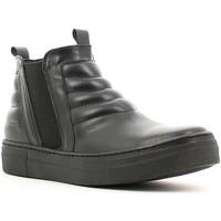 Cipők Női Magas szárú edzőcipők Café Noir XV101 Fekete