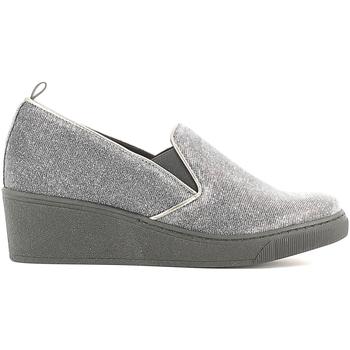 Cipők Női Mokkaszínek Grunland SC2056 Fekete