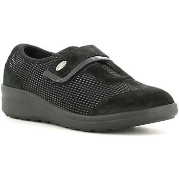 Cipők Női Mokkaszínek Grunland SC1481 Fekete