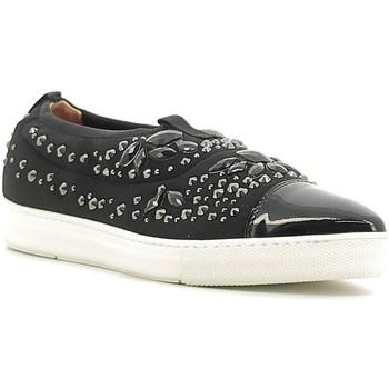 Cipők Női Belebújós cipők Alberto Guardiani GD33191B Fekete