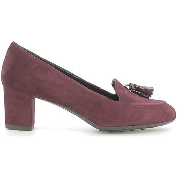 Cipők Női Mokkaszínek Grace Shoes 206 Piros