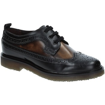 Cipők Női Oxford cipők Marco Ferretti 111726MF 1488 Fekete