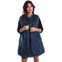 Ruhák Női Kabátok Gazel AB.CS.GL.0001 Kék