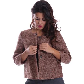 Ruhák Női Kabátok Gazel AB.CS.GI.0043 Rózsaszín
