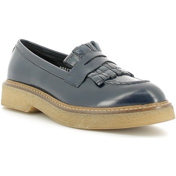 Cipők Női Mokkaszínek Soldini 20027-2 Kék