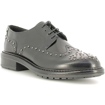 Cipők Női Oxford cipők Soldini 19963-B Fekete