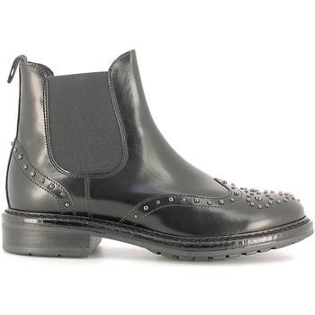Cipők Női Bokacsizmák Soldini 19960-B Fekete
