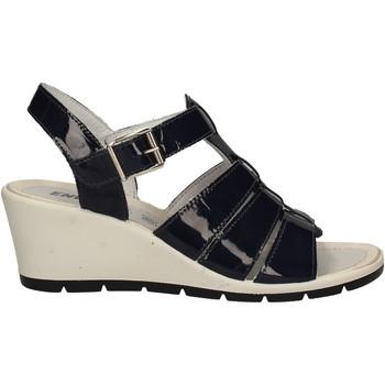 Cipők Női Szandálok / Saruk Enval 7986 Kék