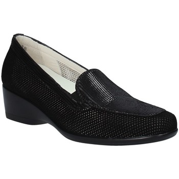 Cipők Női Mokkaszínek Melluso R30506F Fekete