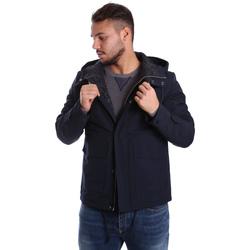 Ruhák Férfi Steppelt kabátok Antony Morato MMCO00424 FA600100 Kék