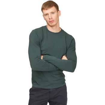 Ruhák Férfi Hosszú ujjú pólók Gas 300187 Zöld