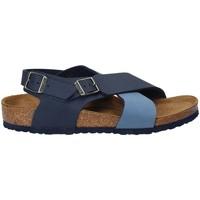 Cipők Gyerek Szandálok / Saruk Birkenstock 1008506 Kék