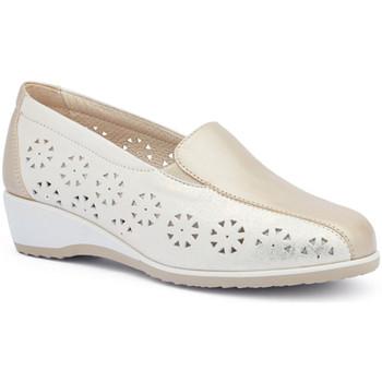 Cipők Női Mokkaszínek Susimoda 4412 Arany