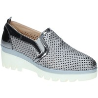Cipők Női Mokkaszínek Grace Shoes J306 Szürke