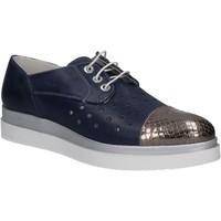 Cipők Női Oxford cipők Keys 5107 Kék