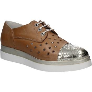 Cipők Női Oxford cipők Keys 5107 Barna