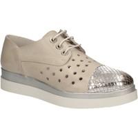 Cipők Női Oxford cipők Keys 5107 Szürke