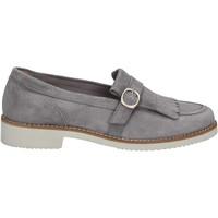 Cipők Női Mokkaszínek Maritan G 160489 Szürke