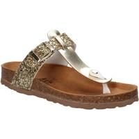 Cipők Női Lábujjközös papucsok Everlast EV-106 Arany