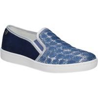 Cipők Női Belebújós cipők Keys 5051 Kék