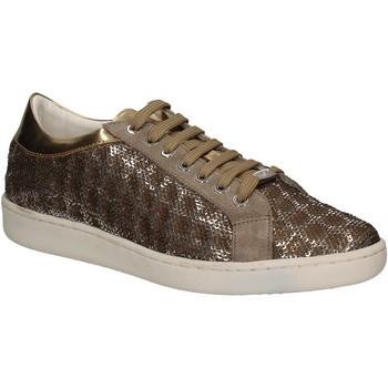 Cipők Női Rövid szárú edzőcipők Keys 5052 Arany