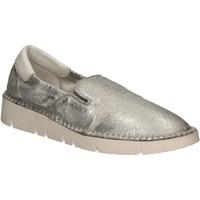 Cipők Női Belebújós cipők Keys 5075 Ezüst