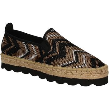Cipők Női Gyékény talpú cipők Keys 5345 Fekete