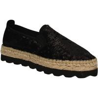 Cipők Női Gyékény talpú cipők Keys 5346 Fekete