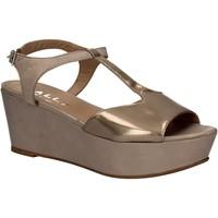 Cipők Női Szandálok / Saruk Mally 5667 Szürke