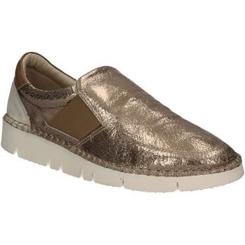 Cipők Női Belebújós cipők Mally 5708 Arany