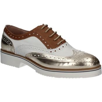 Cipők Női Bokacipők Mally 5813 Arany