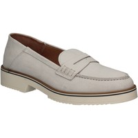 Cipők Női Mokkaszínek Mally 5876 Ezüst