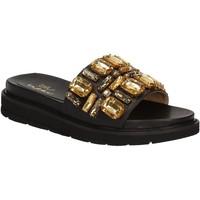Cipők Női strandpapucsok Byblos Blu 672102 Fekete