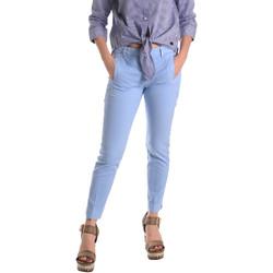 Ruhák Női Chino nadrágok / Carrot nadrágok Fornarina BE171L74G29118 Kék