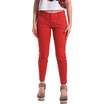 Ruhák Női Chino nadrágok / Carrot nadrágok Fornarina BE171L74G29176 Piros