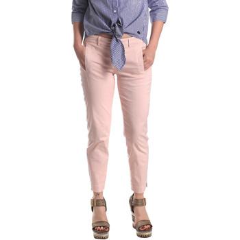 Ruhák Női Chino nadrágok / Carrot nadrágok Fornarina BE171L74G291C5 Rózsaszín