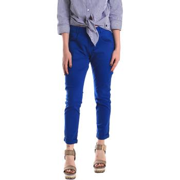 Ruhák Női Chino nadrágok / Carrot nadrágok Fornarina BE171L75G29112 Kék