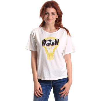 Ruhák Női Rövid ujjú pólók Fornarina BE175L27JG1608 Fehér