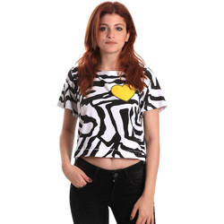 Ruhák Női Rövid ujjú pólók Fornarina BE175L35JG0700 Fekete