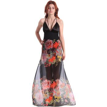 Ruhák Női Hosszú ruhák Fornarina BE178D67CA0700 Fekete
