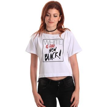 Ruhák Női Rövid ujjú pólók Fornarina SE175L28JG0709 Fehér