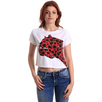 Ruhák Női Rövid ujjú pólók Fornarina SE175L32JG0709 Piros